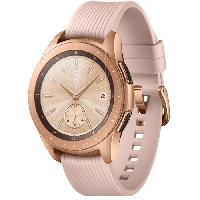 Montre Intelligente - Montre Connectee Galaxy Watch 42mm 4G. Or Impérial Samsung