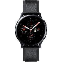 Montre Intelligente - Montre Connectee Galaxy Watch Active 2 40mm Acier 4G. Noir Diamant Samsung