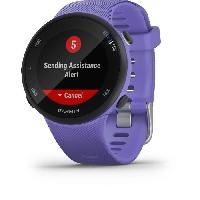 Montre Intelligente - Montre Connectee Garmin Forerunner 45 - Montre de course GPS connectée - Small - Violette