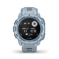 Montre Intelligente - Montre Connectee Garmin Instinct- Montre GPS robuste - Écume