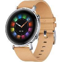 Montre Intelligente - Montre Connectee HUAWEI Watch GT 2 - Montre connectée DIANA 42MM Classique Marron