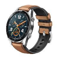 Montre Intelligente - Montre Connectee HUAWEI Watch GT Montre Sport Marron