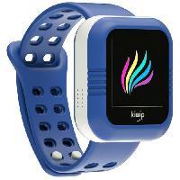 Montre Intelligente - Montre Connectee KIWIP Montre connectée pour enfant - Bleu Kiwip Watch