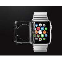 Montre Intelligente - Montre Connectee PLATYNE Coque pour Apple Watch - 38 mm - Silicone