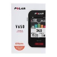 Montre Intelligente - Montre Connectee POLAR Compteur GPS V650 + HR