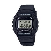 Montre Outdoor Montre Sport W-218H-1AVEF - Homme - Noir - 5 bars