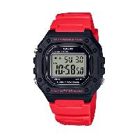 Montre Outdoor Montre Sport W-218H-4BVEF - Homme - Rouge - 5 bars