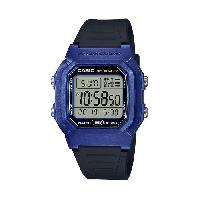 Montre Outdoor Montre Sport W-800HM-2AVEF - Homme - Bleu - 10 bars