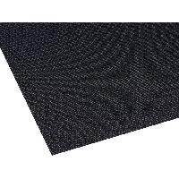 Moquettes Acoustiques Tissu acoustique 1.4 x 0.7m - Noir ADNAuto