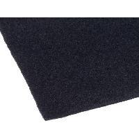 Moquettes Acoustiques Tissu acoustique 1.4x0.7m noir adhesif - ADNAuto