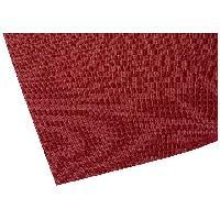 Moquettes Acoustiques Tissu acoustique 1.4x0.7m rouge fonce - ADNAuto
