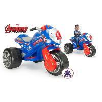 Moto - Scooter AVENGERS Trimoto Electrique - Marvel - Injusa