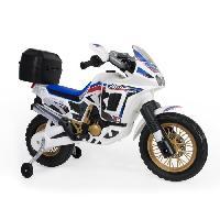 Moto - Scooter INJUSA Moto Honda Africa Twin 6V Blanca
