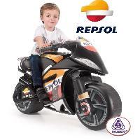 Moto - Scooter Moto Electrique Enfant Repsol Moto Wind - 6 V