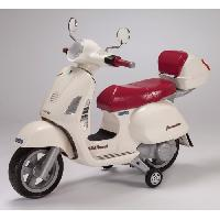 Moto - Scooter PEG PEREGO Vespa Enfant Scooter Electrique Enfant 12 Volts