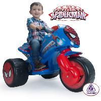 Moto - Scooter SPIDERMAN TriMoto Electrique Enfant Ultimate 6 Volts