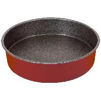 Moule A Gateau - Patisserie IMF Moule a gâteau rond profond Rioja - Ø 26 cm - Rouge et gris - Generique