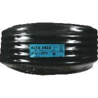 Moulure - Goulotte - Cache Fil - Plinthe - Gaine Range-fil - Clips JANOPLAST Gaine ICTA avec tire fil/lubrifiée - Diametre 32 mm - 50 m