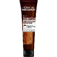 Mousse A Raser - Gel A Raser - Savon A Barbe MEN EXPERT Creme de rasage protectrice BarberClub - 150 ml