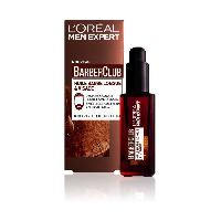 Mousse A Raser - Gel A Raser - Savon A Barbe MEN EXPERT Huile barbe longue Barberclub - 30 ml - Marron