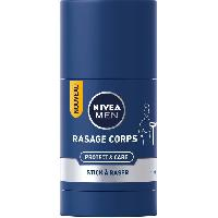 Mousse A Raser - Gel A Raser - Savon A Barbe NIVEA MEN Stick a raser Protect et Care - Pour corps - 75 ml