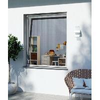Moustiquaire De Fenetre - De Porte WINDHAGER Moustiquaire porte battante - L 100 x H 210 cm - Blanc