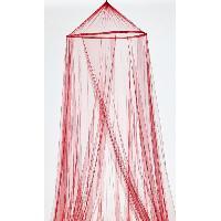 Moustiquaire De Lit Moustiquaire Rouge 60x250x1200
