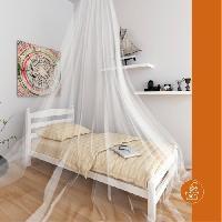 Moustiquaire De Lit Moustiquaire ciel de lit Double - Blanc