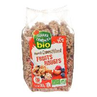 Muesli Muesli croustillant aux fruits rougesbio - 500 g