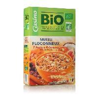 Muesli Muesli floconneux aux 7 fruits et 4 cereales - Bio - 500g