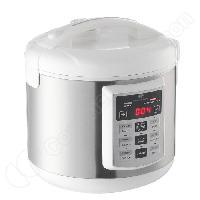 Multicuiseur Electrique Multi cuiseur automatique blanc et inox