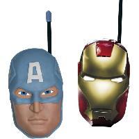 Multimedia Enfant AVENGERS Talkie-walkie (Iron Man et Captain America)