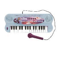 Multimedia Enfant Clavier Électronique Musical avec Micro et câcle Aux-In (32 touches) Reine des Neiges