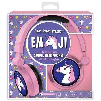 Multimedia Enfant DGL TOYS casque audio enfant audio Emoticon Licorne