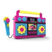 Multimedia Enfant EKIDS TROLLS Sing Along Boombox TR-115
