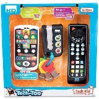 Multimedia Enfant INFINI FUN Coffret Cles Telephone Telecommande Educatifs