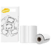 Multimedia Enfant Pack de 3 rouleaux de papier pour Appareil Photo Créacam