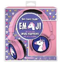 Multimedia Enfant casque audio enfant audio Emoticon Licorne