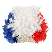 Multisport CHRONOSPORT Perruque frisée supporter France