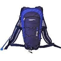 Multisport Sac a dos avec poche a eau 2 Litres - Bleu