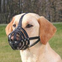 Museliere TRIXIE Museliere Julius-K9 - Peau de buffle - 34cm - Noir - Pour chien