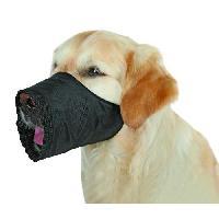 Museliere TRIXIE Museliere polyester S?M noir pour chien