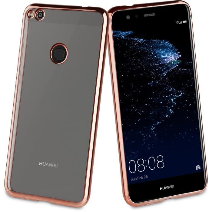 Muvit-Life-Coque-Bling-Or-Rose-pour-Huawei-P8-Lite-2017