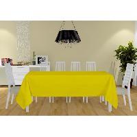 Nappe De Table Nappe Alix - 140x300 cm - Jaune