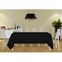 Nappe De Table Nappe Alix - 160x270 cm - Noir