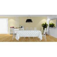 Nappe De Table Nappe Palmier - 140x240 cm - Gris