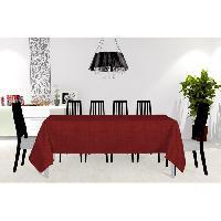 Nappe De Table Nappe anti-taches - Galaxy - 150x300 cm- Rouge