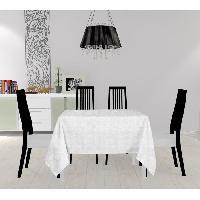 Nappe De Table Nappe carree - Galaxy - 180X180 cm - Blanc