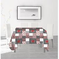 Nappe De Table SOLEIL D'OCRE Nappe anti-taches carree Fidji - 180 x 180 cm Soleil D Ocre
