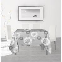 Nappe De Table SOLEIL D'OCRE Nappe anti-taches carree Texas - 180 x 180 cm - Vert Soleil D Ocre